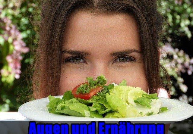 Augen und Ernährung